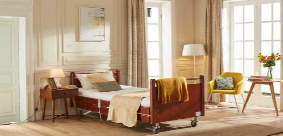 家用电动多功能升降医疗老人床